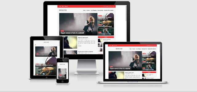 himster-responsive-blogger-template