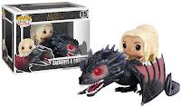 Funko Pop!  Daenerys Targary riding the noble Drogon