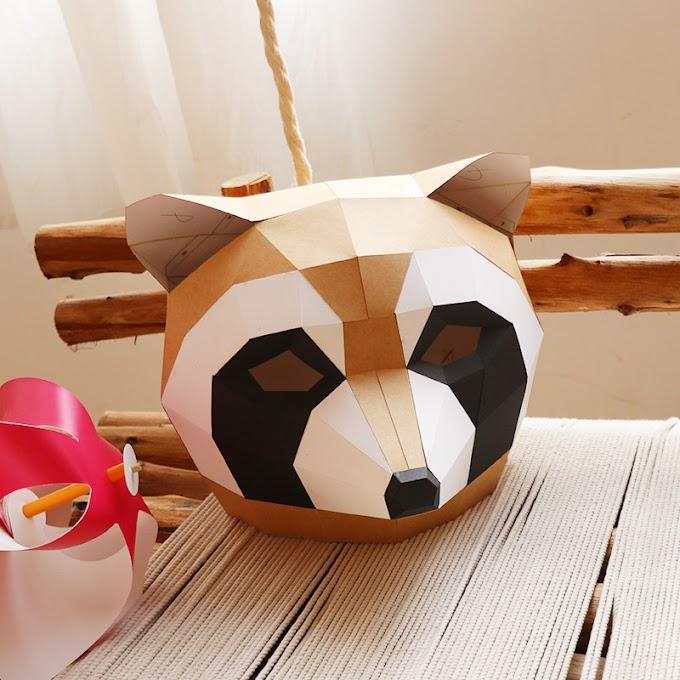 How to Make Animal Mask with Cardboard?