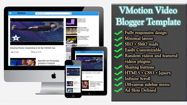 VMotion Blogger Template