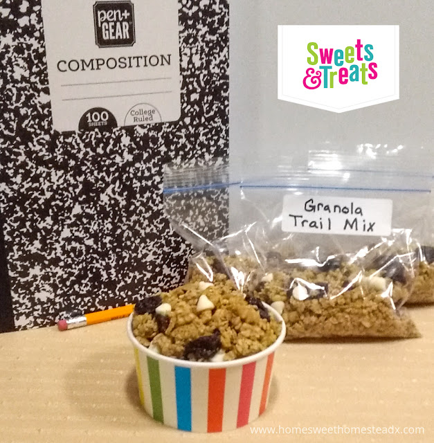 Granola Trail Mix - Home Sweet Homestead - Granola Trail Mix is packed full of flavor and  wholesome goodness, and is the perfect after-school snack for tired and hungry children.