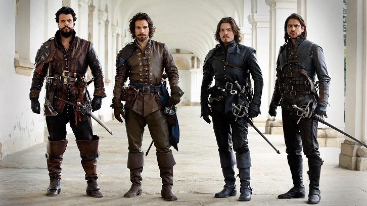 The Musketeers - Season 3 will be the last