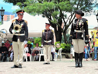 Banda marcial en bello antioquia