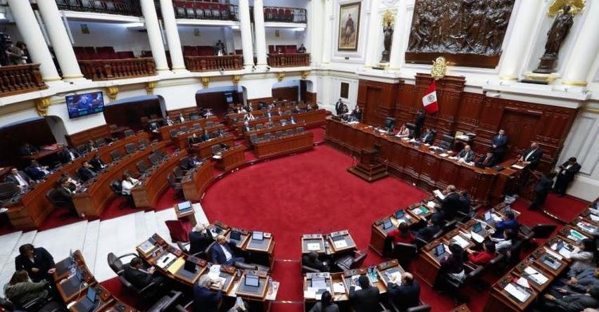 Excongresistas del disuelto parlamento perderán inmunidad a partir de la próxima semana