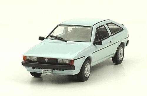 volkswagen Scirocco 1981 1:43, volkswagen collection, colección volkswagen méxico