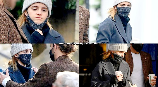 Emma Watson Updates Emma Watson And Her Boyfriend In London November 18 2020