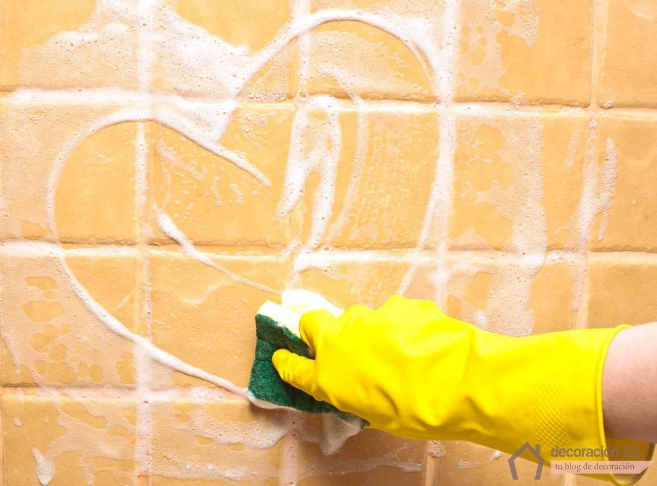 Cómo limpiar baldosas sin esfuerzo