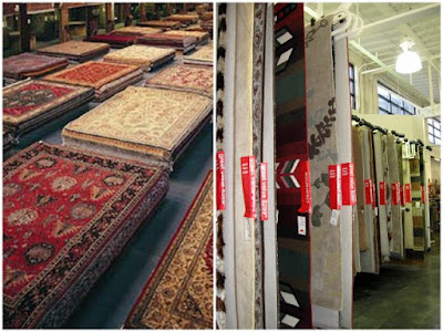 Rug Store collage