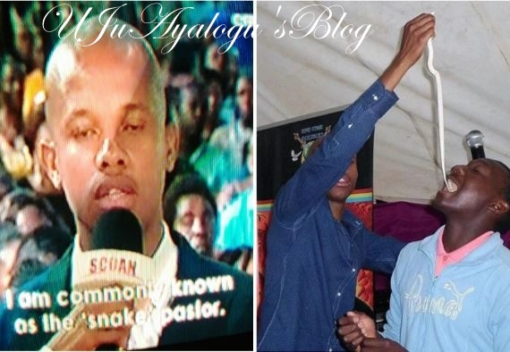 "Popular ""Snake Pastor"" Confesses At TB Joshua's Church; Seeks For Prayers And Deliverance."