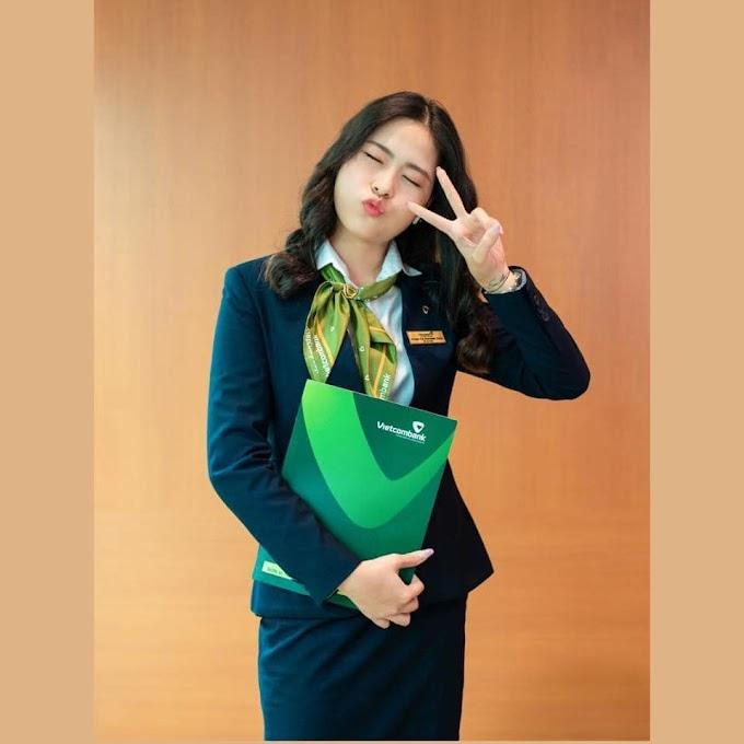 Nét đẹp nhân viên ngân hàng - Ngân hàng TMCP Ngoại thương Việt Nam - Vietcombank