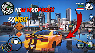 [50MB] GTA SA LITE MODPACK FOR ANDROID    GTA 5 NEW MODPACK   