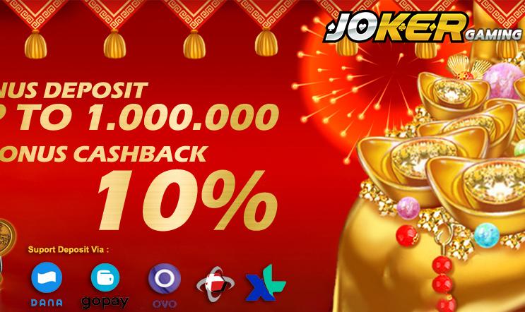 Joker Gaming Cashback 10%