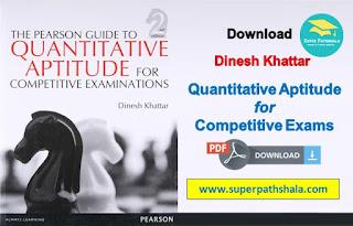 Pearson Guide to Quantitative Aptitude Pdf Download