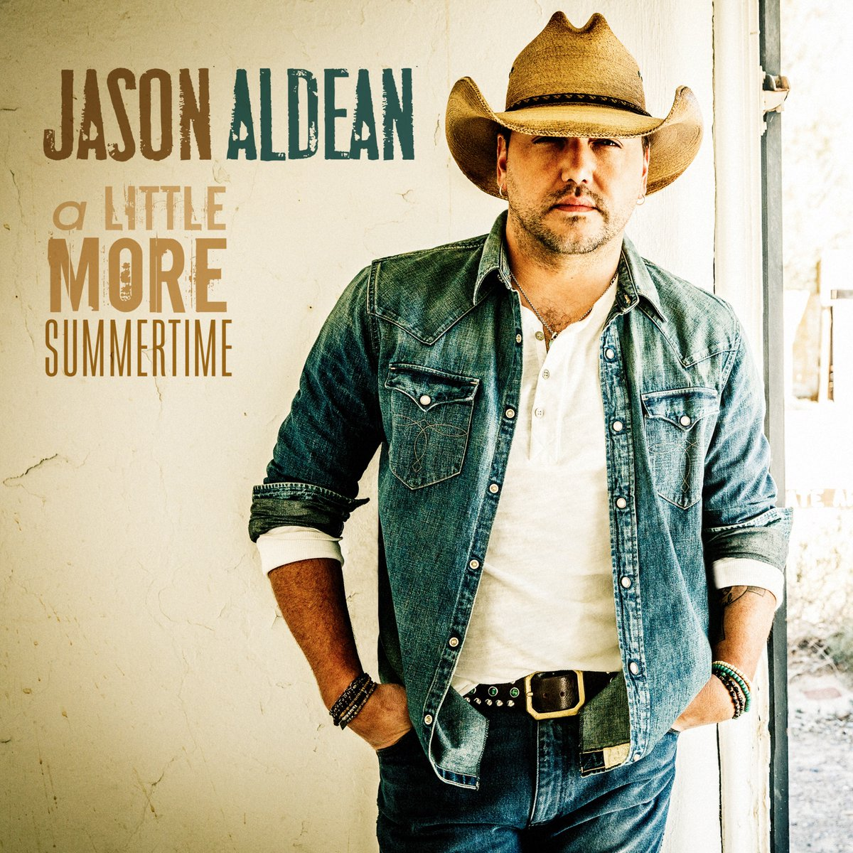 Jason Aldean - A Little More Summertime - Single Cover