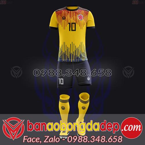 Áo Đội Tuyển Đặt May Theo Yêu Cầu - Mã COLOMBIA-04