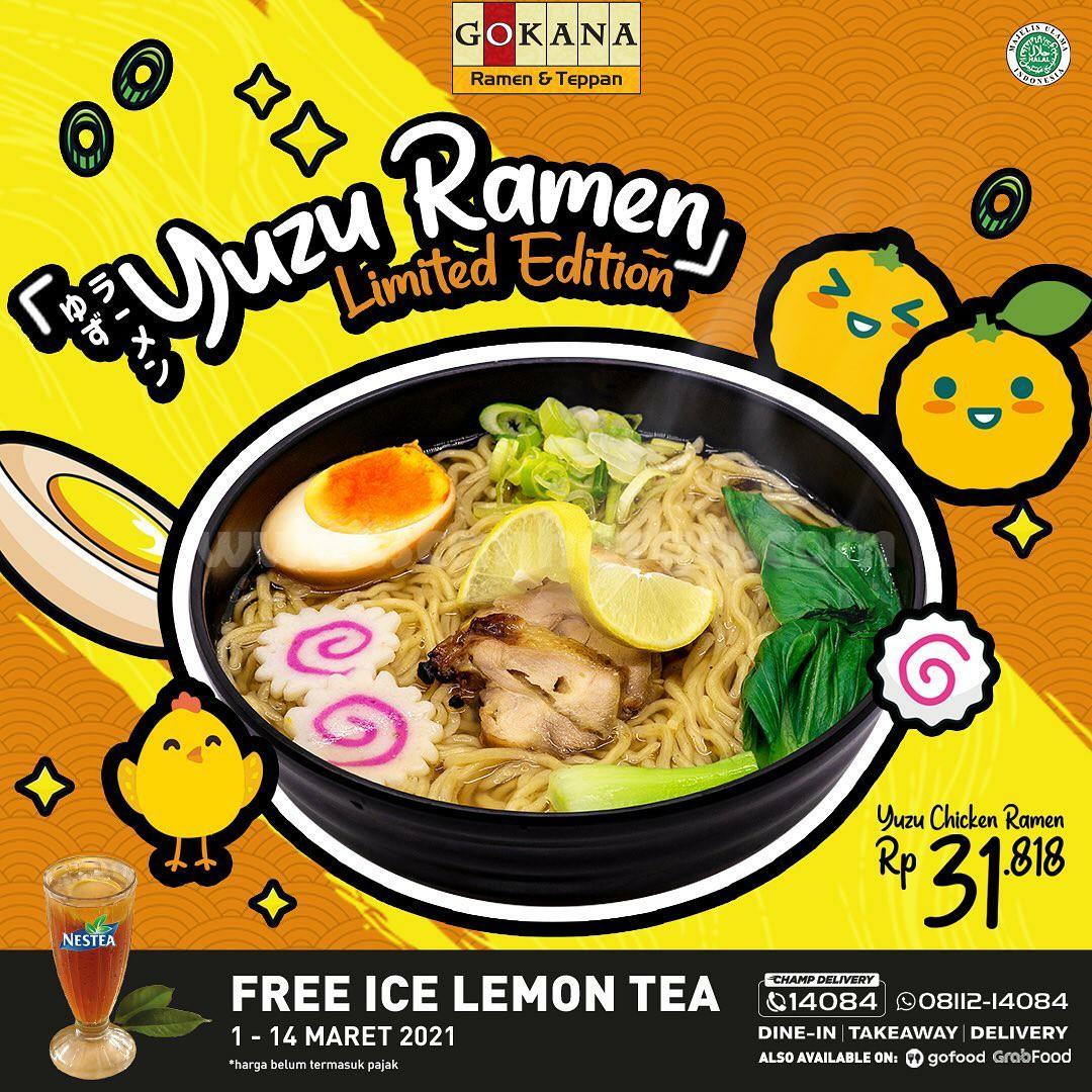 GOKANA Promo YUZU RAMEN! Menu Limited Edition cuma Rp 31.818