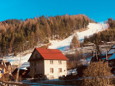 Ośrodek narciarski Czorsztyn Ski, góra Wdżar, trasa czerwona nr 6