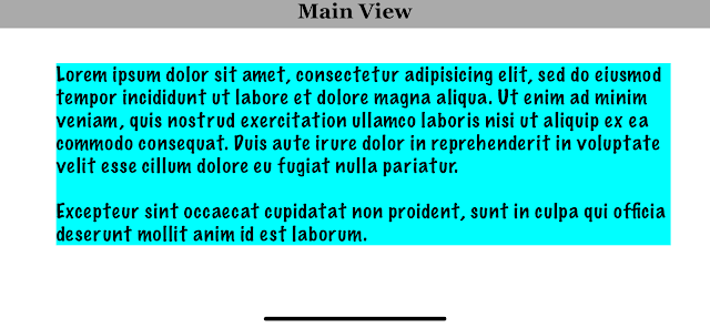 iOS Swift adjust frame of UILabel based on Text length, size and font