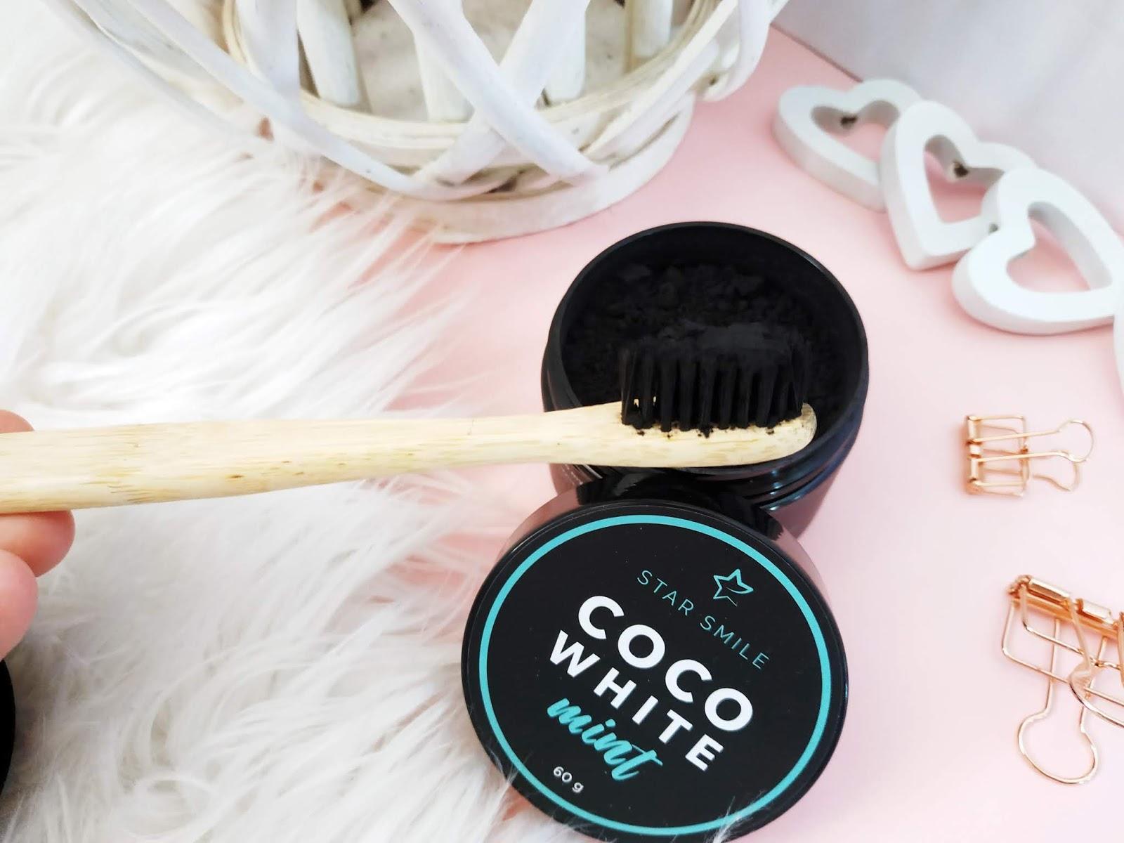 Najlepsza metoda wybielania zębów,wybielanie zębów coco white mint