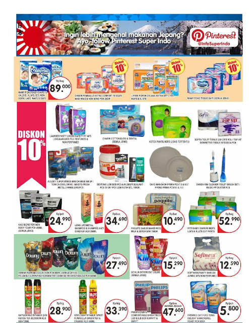 Katalog Promo Brosur Super Indo Bandung, Sukabumi, Cirebon, Mojokerto, Kediri dan Jombang edisi 21 September hingga 27 September 2017