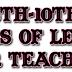 6,7,8,9,10ம் வகுப்புகளுக்கான ஆசிரியர் பாடக் குறிப்பேடு - NOTES OF LESSON FOR TEACHERS JUNE FIRST WEEK 2019