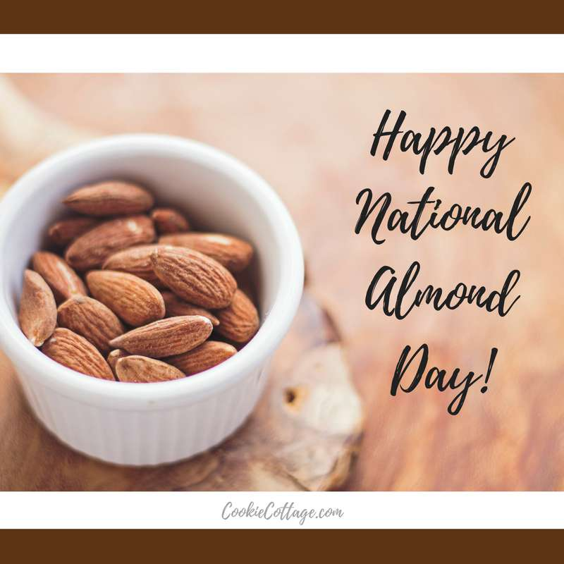 National Almond Day Wishes for Whatsapp