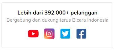 Sosial Media Bicara Indonesia