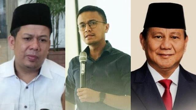 Faldo Maldini Unggah Video Bersama Prabowo Subianto, Fahri Hamzah: Lain Kali Suruh Beliau Nyanyi
