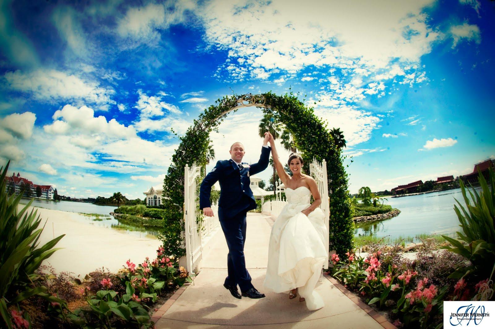 Wedding Photography At The Walt Disney World Pavillion Orlando Fl And Desert Party Epcotl
