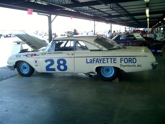 Power By Ford Ford Mercury Edsel Lincoln 1962 Nascar Galaxie