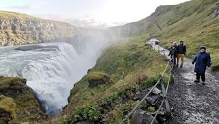 Cascada de Gullfoss. Círculo Dorado, Golden Circle. Islandia, Iceland.
