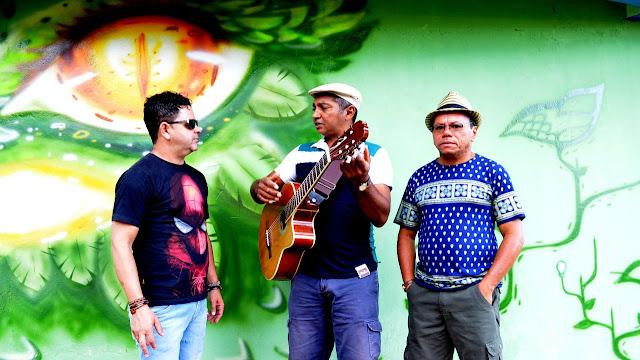 Da esquerda para a direita: Jairo Mendonça, Zémiguel Rodrigues e Paulim Diolinda Foto Joaquim Dantas Fotografia®