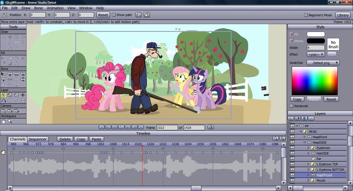 Anime studio pro 11 terbaru