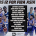 Gilas 12 revealed for FIBA ASIA CUP