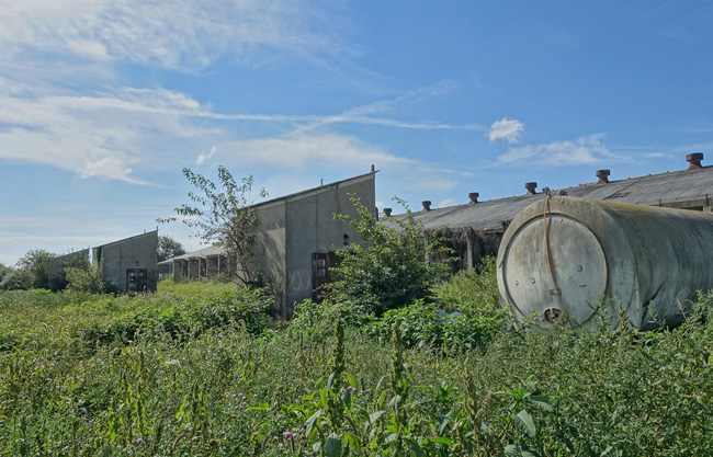 Kingsbury Ordnance Plant Abandoned Ammunition Factory in La Porte Indiana