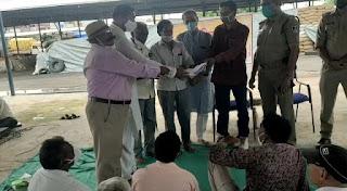 भारतीय किसान संघ ने प्रधानमंत्री नरेंद्र मोदीजी के नाम ज्ञापन