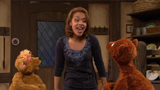 Baby Bear, Gabi, Curly Bear, Sesame Street Episode 4416 Baby Bear's New Sitter season 44