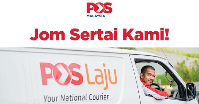 POS Malaysia Buka Pengambilan Posmen & Kurier di Seluruh Negara ~ Gaji RM1,700 sehingga RM6,000