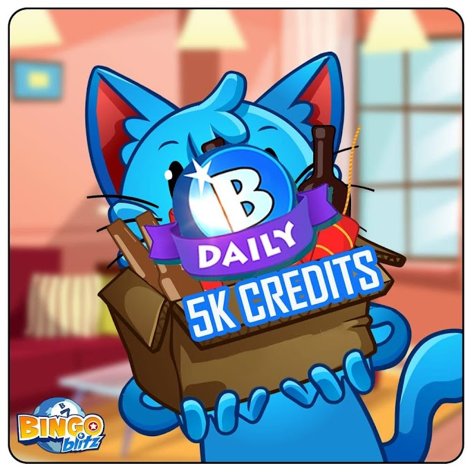 Bingo Blitz Free Credits [ Links Updated EveryDay ]