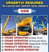 ITI and Diploma Candidates Urgent Requirement Various Position in Leading Carne Company in UAE