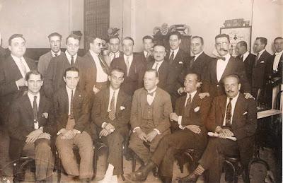 Componentes del Ruy López-Tívoli en 1932