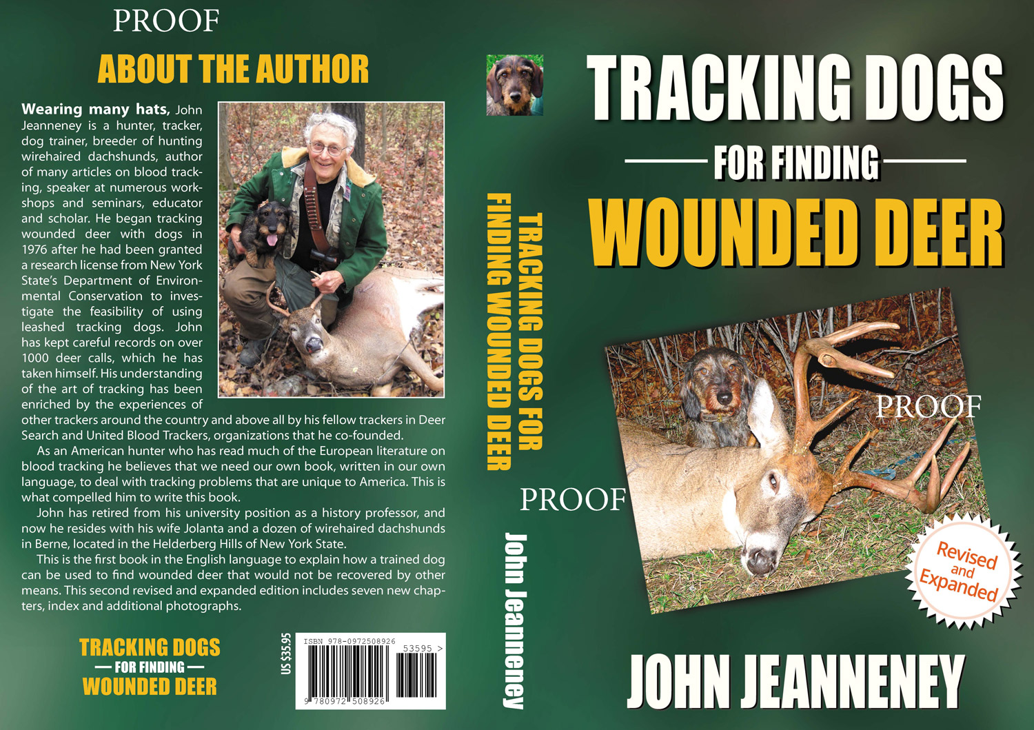 Best book about blood tracking dogs in English.