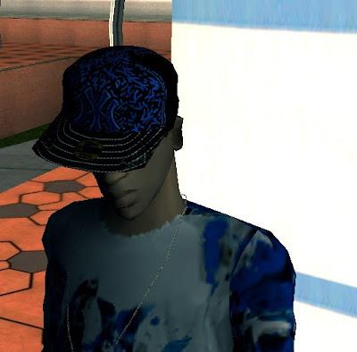 boné roupas swag hip hop para gta sa