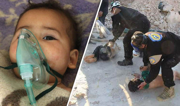 gas attack syria