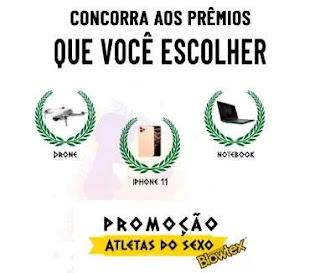 Cadastrar Promoção Blowtex 2020 Atletas do Sexo - Prêmios