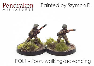 POL1 Foot, walking/firing