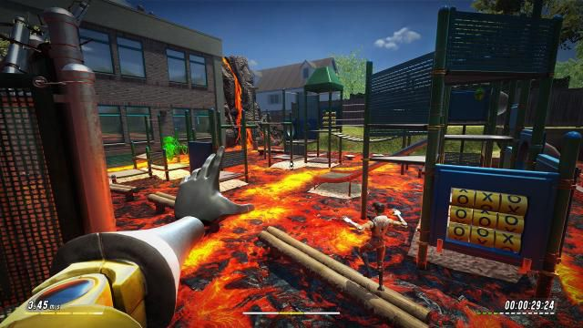 Download Hot Lava Sunshine Shore PC Game Full Version Free