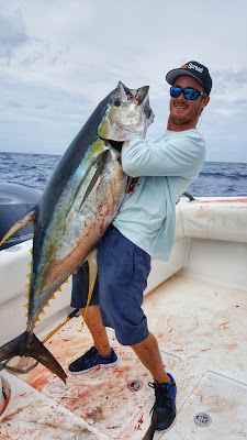 yellowfin tuna fishing in the spread Louisiana venice josh howard deep south charters