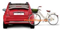 Logo Con ZCare vinci 183 biciclette e una Fiat 500