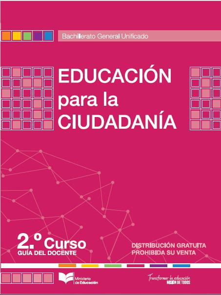 Guia docente de educaci n para la ciudadania primero y for La pagina del ministerio